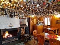 Restaurace pro ubytované hosty - chata ubytování Jiřetín pod Jedlovou