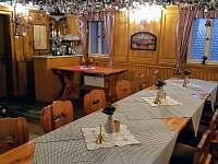 Restaurace pro ubytované hosty - pronájem chaty Jiřetín pod Jedlovou