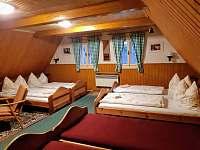 Šestilůžkový pokoj - chata k pronajmutí Jiřetín pod Jedlovou