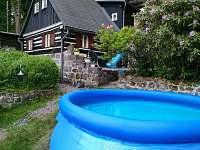 Bazén - chata k pronájmu Dolní Chřibská