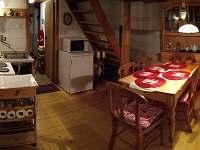 Kuchyňka - pronájem chaty Dolní Chřibská