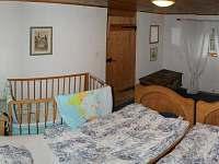Ložnice 1 - chata k pronájmu Dolní Chřibská