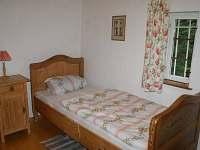 Ložnice 2 - pronájem chaty Dolní Chřibská