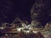 Zima - Vánoce - chata k pronajmutí Dolní Chřibská
