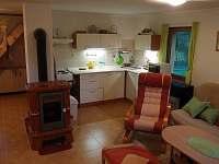 Kuchyňský kout - chata k pronájmu Vlčí Hora