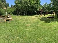Zahrada - apartmán ubytování Horní Chřibská
