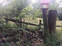 Krmítko, zahrada - Krásná Lipa