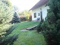 Chalupa Křečovice - boční pohled na vchod