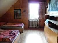 Ložnice A - chalupa ubytování Koberovy - Hamštejn