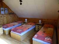 Ložnice A - chalupa k pronájmu Koberovy - Hamštejn