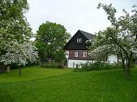 květen na chalupě Pod skalami v Horním Lochově - ubytování Horní Lochov