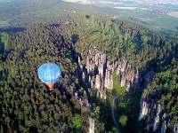 Prachovské skály - let balonem