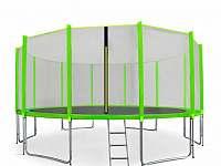 velká trampolína 500 cm - chalupa k pronájmu Chuchelna Komárov