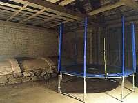Zimní varianta trampolíny - Žeretice