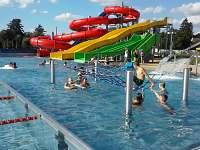 tobogany + bazeny Turnov - Pelešany u Turnova