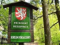 u arboreta pobliž HS - pronájem chalupy Pelešany u Turnova