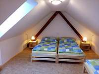 čtyřlůžkový pokoj - patro