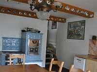 kuchyň - chalupa ubytování Domousnice