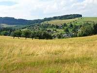 Malebné údolí vesničky Dolní Javoří - chalupa ubytování Dolní Javoří