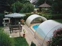 bazén - chata k pronájmu Mašov
