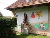 Dětská lanovka /20 m / nejoblíbenější zábava dětí.
