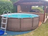 bazén - pronájem rekreačního domu Kopidlno