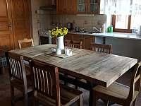 kuchyň - rekreační dům k pronájmu Kopidlno