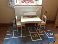 kuchyň - dětský koutek