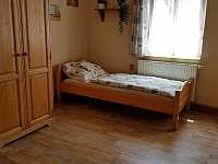 ložnice 2 - rekreační dům k pronájmu Kopidlno