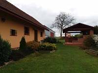 zahrada - rekreační dům k pronajmutí Kopidlno