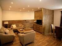 apartmán 1 přízemí obývací pokoj - k pronájmu Nová Paka