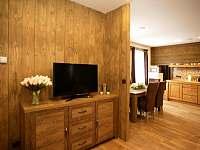 apartmán 1 přízemí obývací pokoj - k pronajmutí Nová Paka