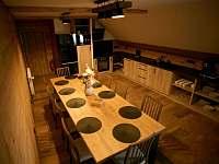 apartmán 2 společenská místnost jídelna a kuchyň - k pronajmutí Nová Paka