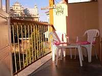 Balkon apt. 6 - Lázně Bělohrad