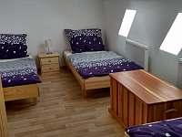Apartmán 2 - Ložnice se třemi lůžky - k pronajmutí Jičín