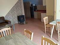 Apartmán 3 - Obývací pokoj s kuchyňským koutem - ubytování Jičín