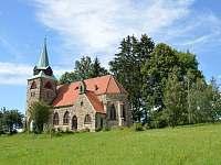 Kostel Božského Srdce Páne v Borovničce