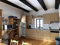 Kuchyň - pronájem chalupy Stupná