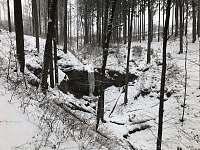 Novopacké vodopády - pronájem chalupy Stupná
