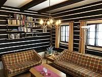 Obývací pokoj - chalupa ubytování Stupná