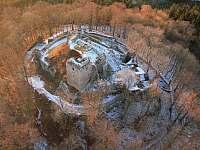 Zřícenina hradu Kumburk - Stupná