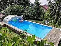Bazén - apartmán ubytování Radostná pod Kozákovem - Kozákov