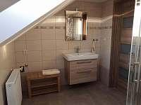Koupelna - pronájem apartmánu Radostná pod Kozákovem - Kozákov