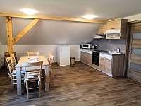 Kuchyně - apartmán ubytování Radostná pod Kozákovem - Kozákov