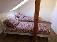Ložnice - apartmán k pronájmu Radostná pod Kozákovem - Kozákov