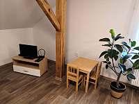 Obývací pokoj - apartmán k pronajmutí Radostná pod Kozákovem - Kozákov