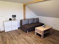 Obývací pokoj - apartmán k pronájmu Radostná pod Kozákovem - Kozákov