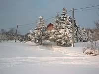 Zima - Radostná pod Kozákovem - Kozákov