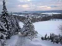 Zima - pronájem apartmánu Radostná pod Kozákovem - Kozákov