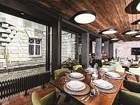 Restaurace, konferenční sál - Branžež